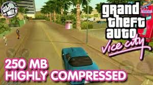 gta vice city data apk 300mb high compressed gta vice city on android apk data
