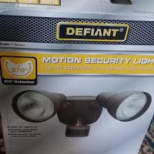 Defiant Security Light Find More Defiant Motion Security Light Brand New In The Box For