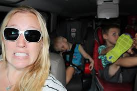 24 hours with 5 kids on a road trip youtube