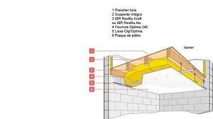 isolation phonique entre 2 chambres isolation acoustique du plancher des combles