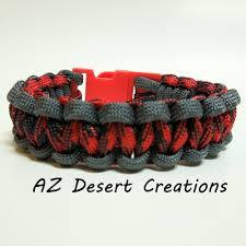 black survival bracelet images Gray red and black survival paracord bracelet military grade 550 jpg