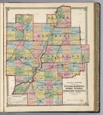 Il County Map Atlas Of Illinois Counties Of Putnam Marshall Stark Peoria