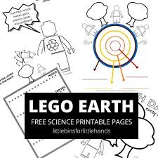 soil layers activity lego kids earth science stem