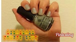 Christmas Light Nails by Pintesting Christmas Lights Manicure