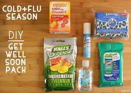 get well soon package cold and flu season diy get well soon pack gublife
