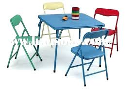 Folding Childrens Table And Chairs Folding Childrens Table Jbindustries Co