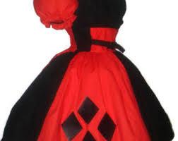 Harley Quinn Halloween Costume Size Harley Quinn Etsy