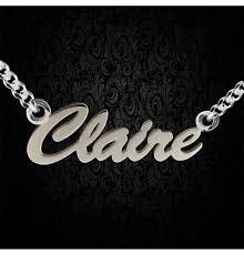 Personalized Name Pendant Personalised Silver Jewellery Eloticsilver