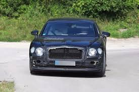 bentley flying spur 2018 2019 bentley flying spur spied testing with a headless dummy as