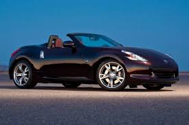 nissan convertible black used 2014 nissan 370z convertible pricing for sale edmunds