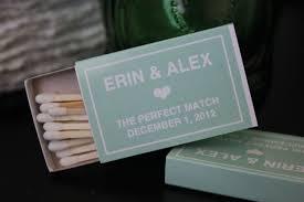 matchbook wedding favors 25 custom designed matchbox wedding favors