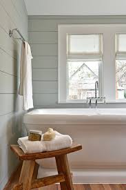 bathroom bench ideas bathrooms simple bathroom with white bathtub and rustic wood