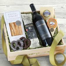 wine and cheese gift baskets epicurean wine meat and cheese gift crate fg200x a gift inside