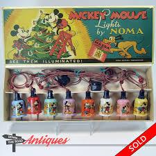 mickey mouse noma lights by walt disney enterprises dtr antiques