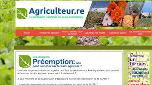 juriste chambre d agriculture de l information juridique et pratique un site lancé
