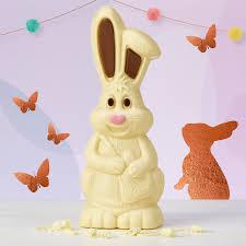 white chocolate bunny white chocolate bunny easter white rabbit chocolate model