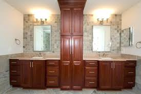 Bathroom Vanities And Linen Cabinet Sets Bathroom Vanity With Matching Linen Cabinet Bathroom Towel Cabinet