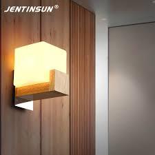 appliques chambre chambre de luxe le de mur en bois nordique style japonais monté