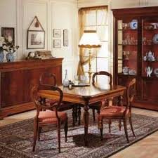 dining room in 19th century french style vimercati classic furniture