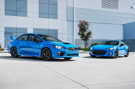 New Brz 2015 Subaru Brz Wrx Sti Series Hyperblue Models Priced