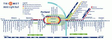 portland light rail map portland max maps