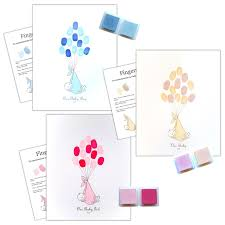 baby shower fingerprint tree alternative guest book fingerprint tree kit uk baby shower co ltd