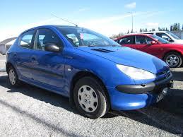 peugeot 206 xr 1 4 5d hatchback 2000 used vehicle nettiauto