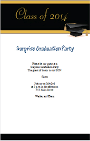 how to make graduation invitations use iclickprint templates for graduation invitations customize now