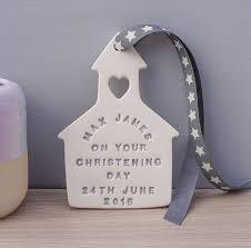 christening gifts personalised ceramic christening gift by kate charlton ceramics
