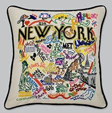 New York City Home Decor Amazon Com Catstudio New York City Pillow Geography Collection