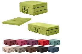 foldable guest mattress 2 sizes 11 colours