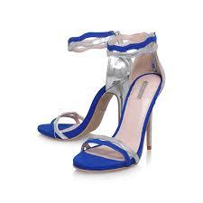 Cobalt Blue High Heels Gate Blue High Heel Sandals By Carvela Kurt Geiger Kurt Geiger