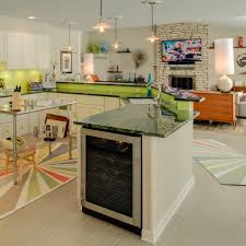 modern eclectic kitchen cabinet for mini fridge kitchen eclectic with area rug double