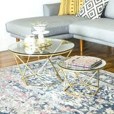 coffee table stacking round glass coffee table set brass glass stacking coffee tables round coffee table sets awesome