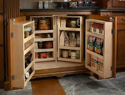 Food Storage Cabinet Dog Food Storage Cabinet Kitchen Traditional With Light Wood