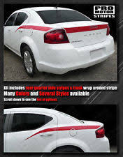 dodge avenger deck yellow car truck decals stickers for dodge avenger ebay
