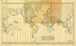 Map Time Zones Time Zone Chart Of The World World Digital Library