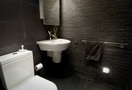black floor tiles bathroom aesthetic grey slate flooring decor