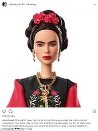 Seeking Kyle Doll Salma Hayek Blasts Mattel For Doll Of Frida Kahlo