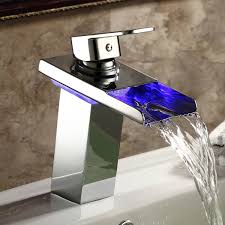 Bathroom Faucets For Vessel Sinks by Bathroom Oil Rubbed Bronze Waterfall Bathroom Faucet Waterfall