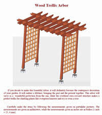wedding arches plans free arbor plans how to build an arbor
