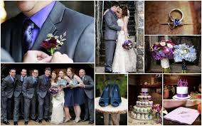 purple and blue wedding all the blue and purple wedding colors luckiest girl
