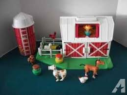 Fisher Price Little People Barn Set Vintage Fisher Price Little People Farm Set Romney Toy Shop 10