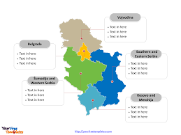 Map Of Serbia Free Serbia Editable Map Free Powerpoint Templates