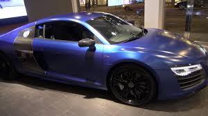 Audi R8 Matte - sepangblue matte audi r8 v10 plus 5 2 fsi 550 hp s tronic in