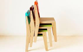 chaise contemporaine pour enfant en bois zinda nonah