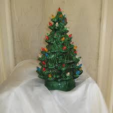 ceramic light up christmas tree best vintage ceramic christmas trees products on wanelo