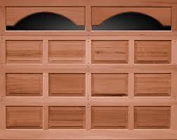 Wood Overhead Doors Cocoa Wood Garage Doors Overhead Door Of America Garage Door