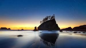 landscapes beach beautiful landscape sunset sky stars nature