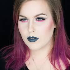 pink glitter and stone fox lips makeup look u2014 rebeccashoresmua com